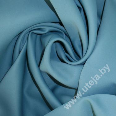 Блэкаут однотонный цвет голубой