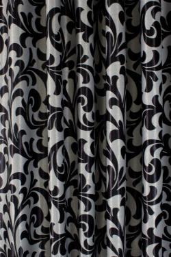 Ткань блэкаут - чёрная