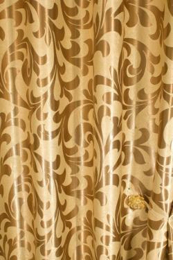 Ткань блэкаут - золото