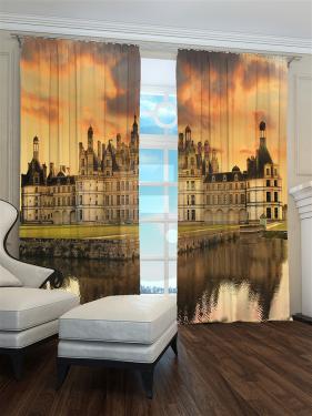Фотошторы «Готический Замок» арт. S9171 H260