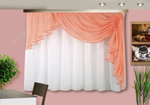 Сшить шторы из вуали своими руками для кухни