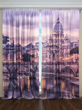 Фотошторы «Римский мост» арт. S30016 H260