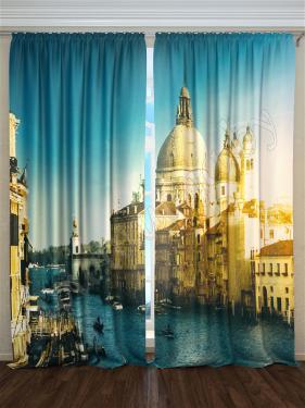 Фотошторы «Венецианский Гранд-канал» арт. S9209 H260