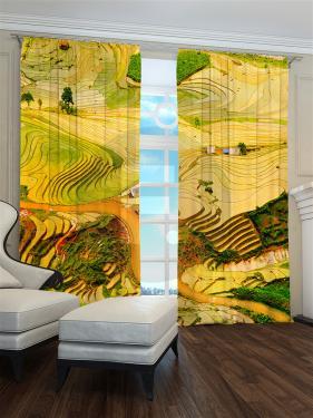 Фотошторы «Желтые поля» арт. S30246 H260