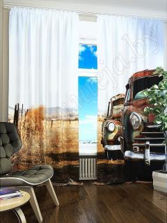 Фотошторы «Машина» арт. S2241 H260