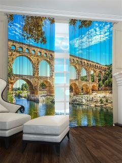 Фотошторы «Акведук в Риме» арт. S30573 H260