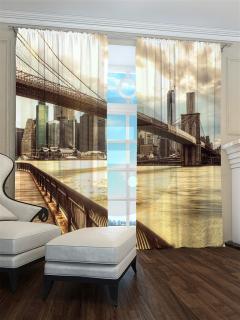 Фотошторы «Бруклинский мост» арт. S30017 H260