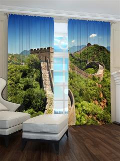 Фотошторы «Китайская стена» арт. S30190 H260
