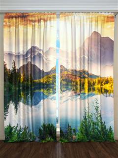 Фотошторы «Озеро высоко в горах» арт. S30098 H260