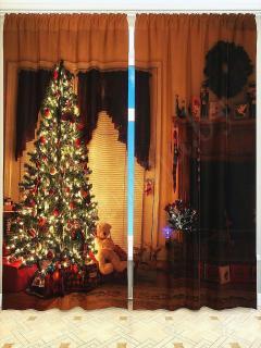 Фотошторы «Рождественская сказка» арт. S2030 H260