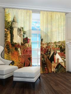 Фотошторы «Старинный замок» арт. S9187 H260
