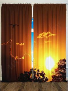 Фотошторы «Закат» арт. S2038 H260