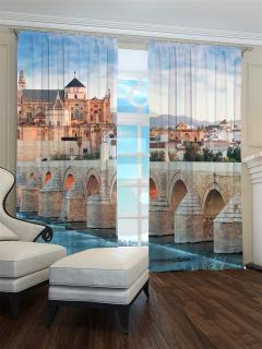 Фотошторы «Замок с мостом» арт. S30412 H260