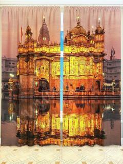 Фотошторы «Золотой храм» арт. S2689 H260